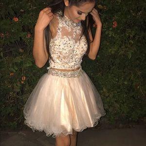 Two piece Cinderella dress